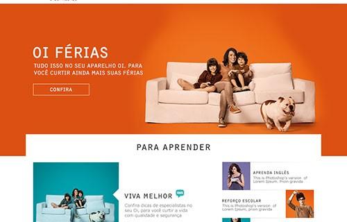 Website – Loja Oi